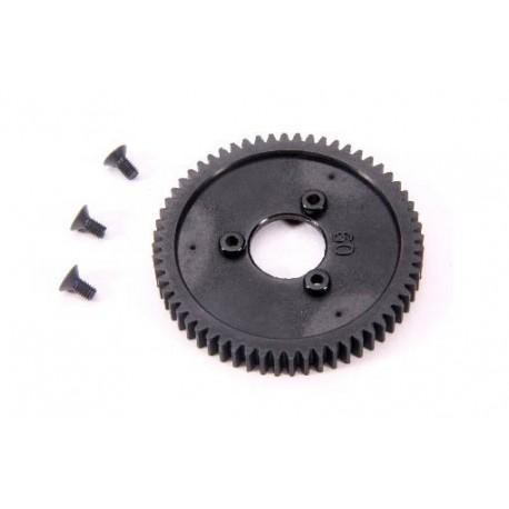 1-Speed Gear 60T (2-speed change One-Way bearing 6mm) (1pc)