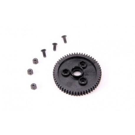2-Speed Gear 55T (2-speed change One-Way bearing 6mm) (1pc)