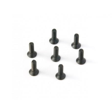 Tornillo de cabeza plana 3X10 (20pzs)