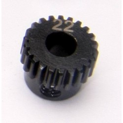 48P 22T 5mm Bore Steel Pinion Gear (1Pc)