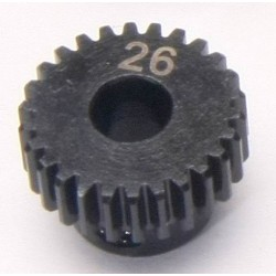 48P 26T 5mm Bore Steel Pinion Gear (1Pc)