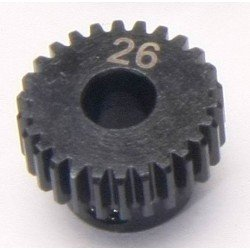 Piñon Motor - Eje 5mm - Paso 48 - 26T (1Pc)