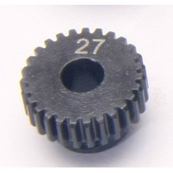 48P 27T 5mm Bore Steel Pinion Gear (1Pc)