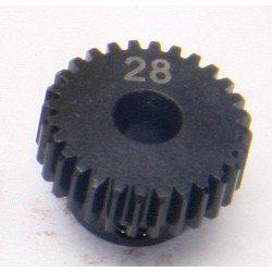Piñon Motor - Eje 5mm - Paso 48 - 28T (1Pc)