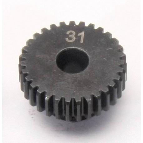 Piñon motor - Eje 5mm - Paso 48 - 31T (1pc)