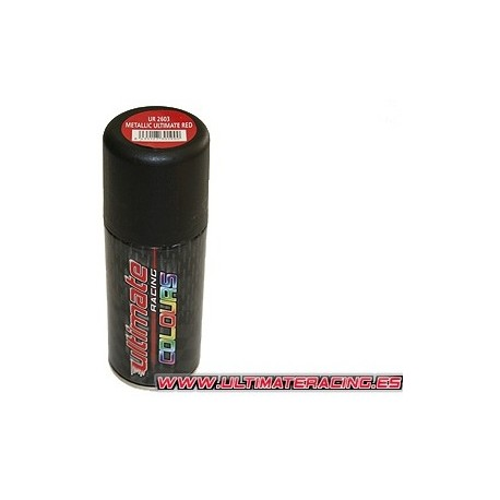 Spray paint Red metallic ultimate 150ml.