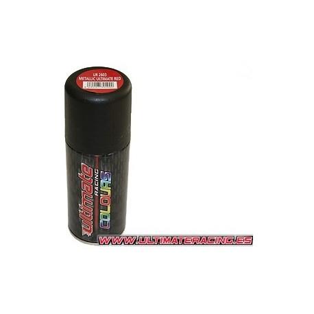 Spray pintura Rojo metalizado ultimate 150ml.