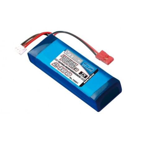 Bateria LiPo para emisoras 7,4V 2400mAh TX