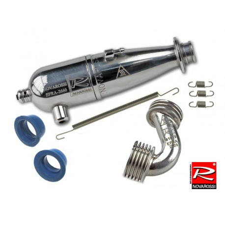 Kit Exhaust pipe and muffler 1/10 Touring efra 2660