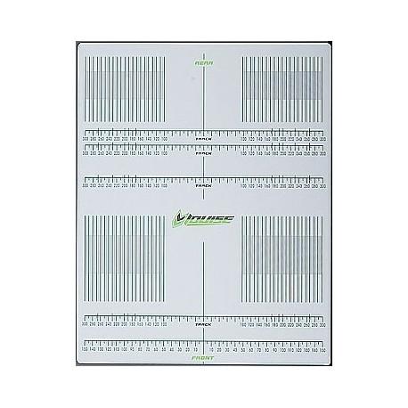 Hoja adhesiva milimétrada para Set-Up 1/10 - 1/8