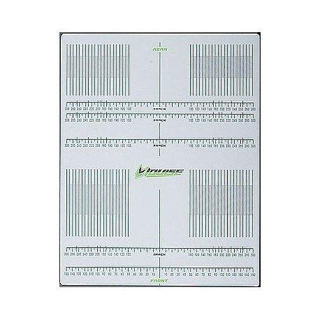 Millimeter Adhesive Sheet for Set-Up 1/10 - 1/8