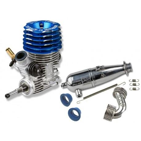 Combo - Engine Novarossi 353 RACE.12 08A + Exhaust 2660
