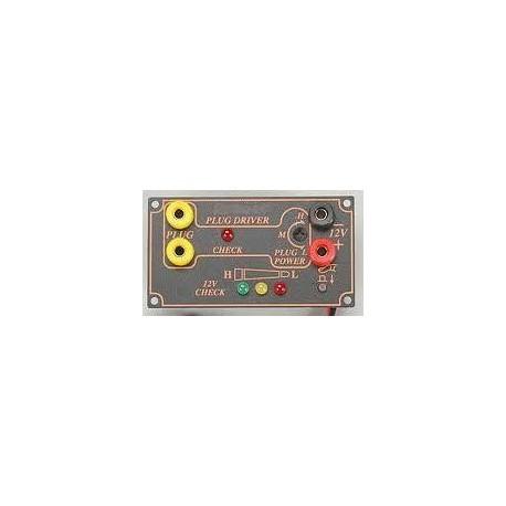 Adjustable power panel (spark plug connection + 12v + 12v test)