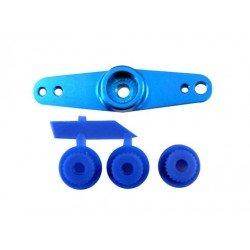 Brazo Servo De Aluminio (Doble) Azul