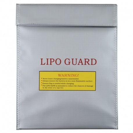 Bolsa inifuga para carga y almacenaje de baterias lipo 23 x 30 cm