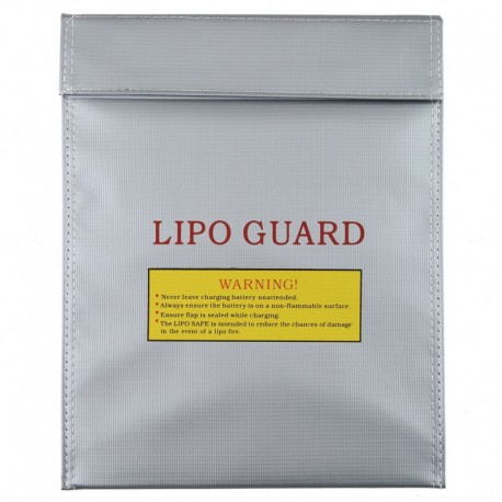 Fireproof bag for charging and storing lipo batteries 23 x 30 cm